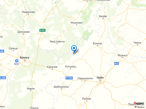 деревня Низино на карте