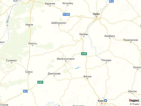 деревня Кучеряевка на карте