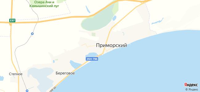 Квартиры Приморского - объекты на карте