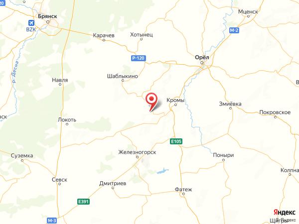 населенный пункт Чистое Поле на карте