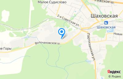 Местоположение на карте пункта техосмотра по адресу Московская обл, рп Шаховская, ш Волочановское, д 12