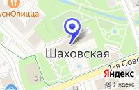 Схема проезда до компании МЕБЕЛЬНЫЙ МАГАЗИН МАРИНА В.Г. в Шаховской