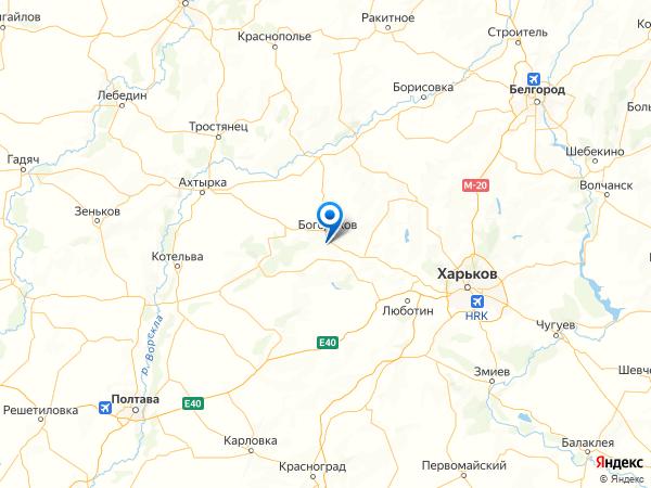 село Семенов Яр на карте