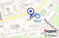 Схема проезда до компании НОТАРИУС МИКИРЕНКОВА Н. А. в Шаховской
