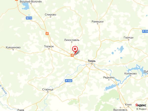 деревня Романово на карте