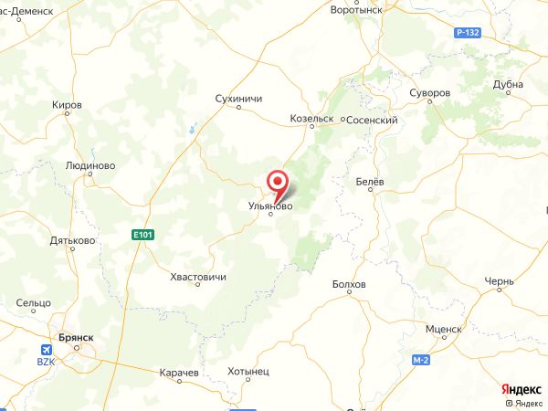 деревня Речица на карте