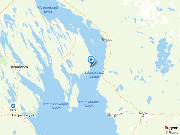 деревня Тамбицы на карте
