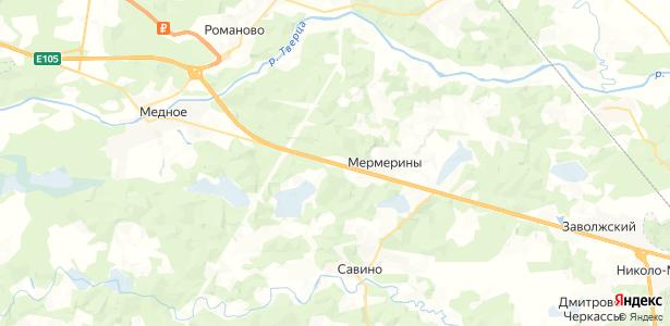 Поддубки на карте