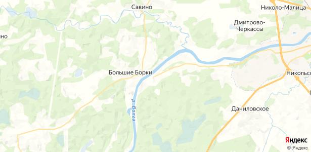 Прудище на карте