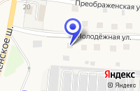 Схема проезда до компании АЗС МОСНЕФТЕПРОДУКТ в Лотошино