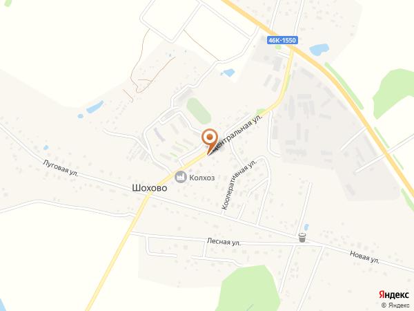 Остановка Шохово (Московская область)