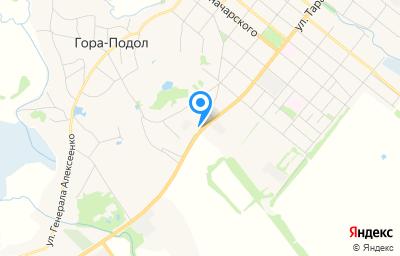 Местоположение на карте пункта техосмотра по адресу Белгородская обл, г Грайворон, ул Тарана, д 100