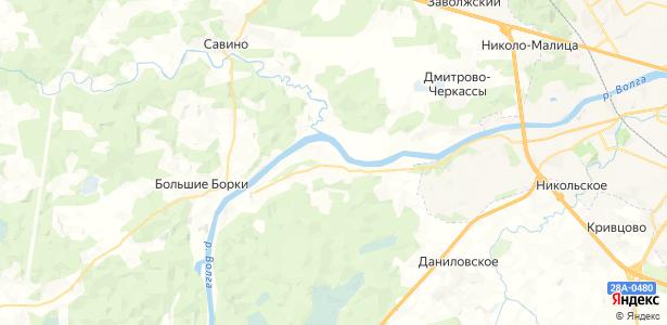 Красново на карте