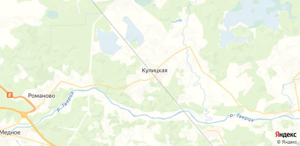 Кулицкая на карте