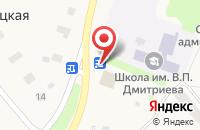 Схема проезда до компании Фарминторг в Кулицкой