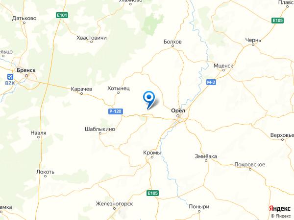 деревня Кулига на карте