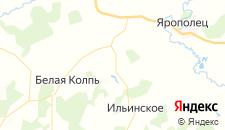 Базы отдыха города Львово на карте