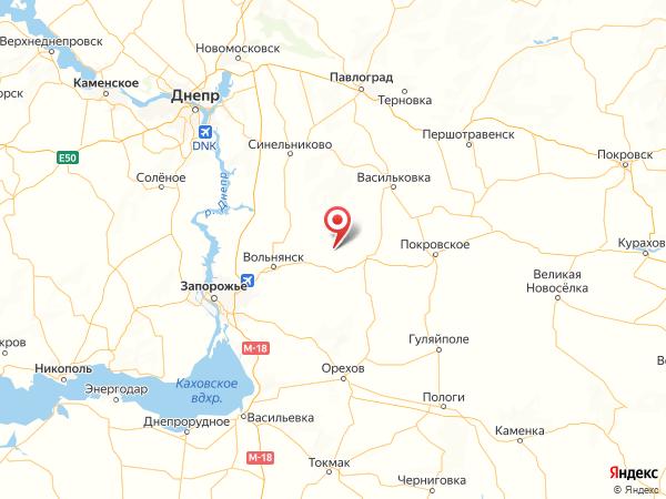 село Геленджик на карте