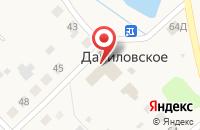 Схема проезда до компании Почтовое отделение в Даниловском