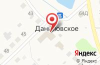 Схема проезда до компании Даниловский в Даниловском