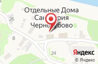 Схема проезда до компании Тверской областной клинический противотуберкулезный диспансер в Черногубово