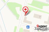 Схема проезда до компании Магнит в Заволжском