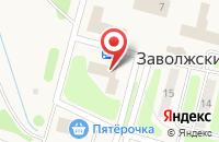Схема проезда до компании Компания по продаже тротуарной плитки в Заволжском