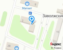 Схема местоположения почтового отделения 170508