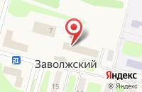 Схема проезда до компании Ательер Тверь в Заволжском