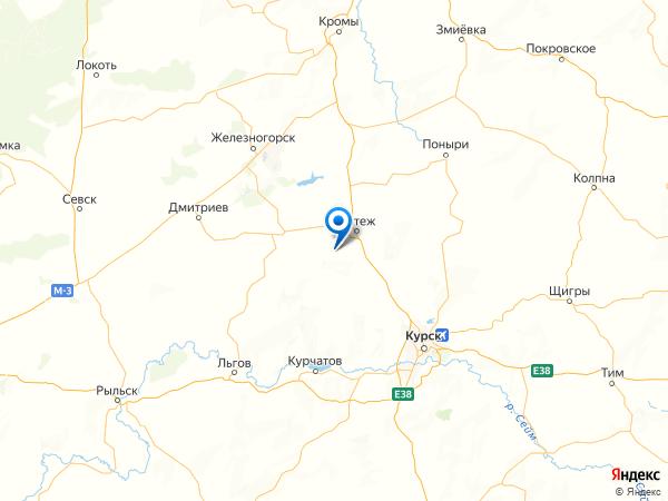 хутор Красный Камыш на карте