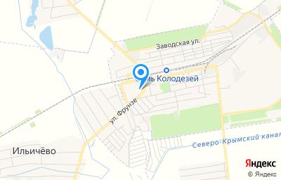 Местоположение на карте пункта техосмотра по адресу Респ Крым, Ленинский р-н, пгт Ленино, ул Фрунзе, д 5Н/8