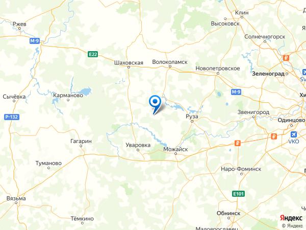 село Карачарово на карте