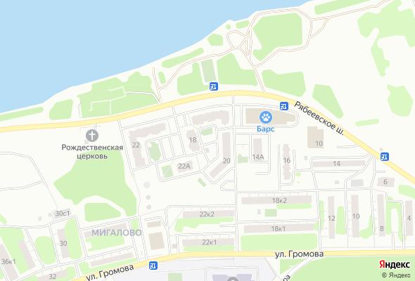 ЖК на Рябеевском шоссе
