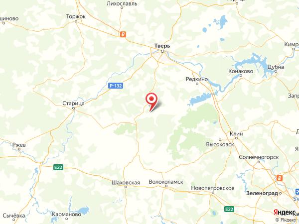 деревня Вязьма на карте