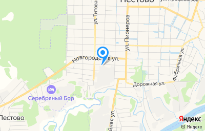 Местоположение на карте пункта техосмотра по адресу Новгородская обл, г Пестово, ул Боровичская, д 92М, пом 1