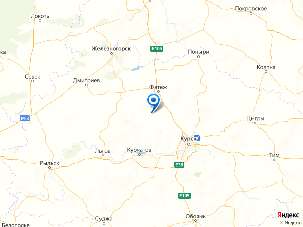 деревня Богдановка на карте