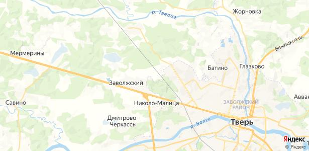 Старое Брянцево на карте