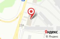 Схема проезда до компании Урал в Твери