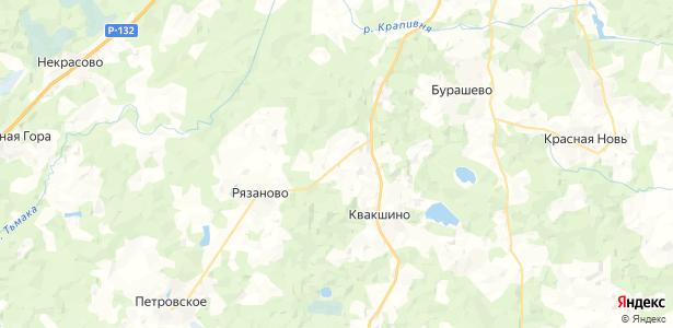 Арисково на карте