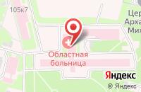 Схема проезда до компании Общество Врачей Хирургического Профиля Тверской Области в Твери