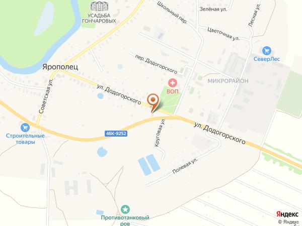 Остановка Ярополец - микрорайон (Московская область)