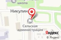 Схема проезда до компании БЫТСТРОЙ в Никольском