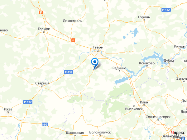 деревня Починки на карте