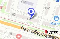 Схема проезда до компании ОБОИ В ТВЕРИ в Твери