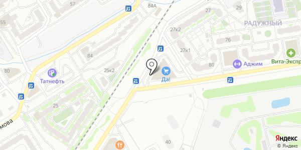 Красное & Белое. Схема проезда в Твери