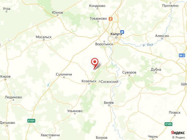 деревня Васильевка на карте