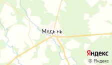 Отели города Медынь на карте