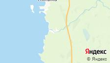 Отели города Пяльма на карте