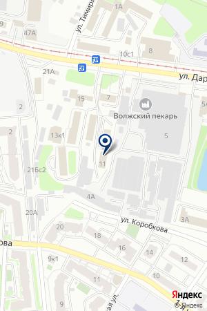 Земельная кадастровая палата по Тверской области на карте Твери