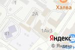 Схема проезда до компании Градус в Твери